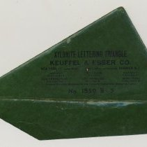 Image of envelope with closure flap open at bottom