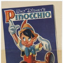 Image of Poster for Cocomalt giveaway: Walt Disney's Pinocchio. This 48 Page Book FREE. Cocomalt ___  ¢. Issued in 1939. - Poster