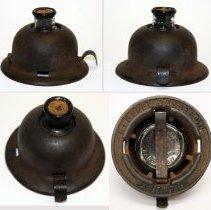 Image of Ink bottle holder, model 3019, made by Keuffel & Esser Co., Hoboken, n.d., ca. 1900-1940. - Inkwell