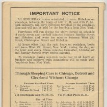 Image of pg [36], back cover: Notice re ferries; sleeping cars
