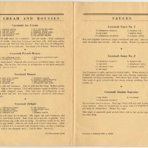 Image of pp 10-11: Ice Cream & Mousses; Sauces