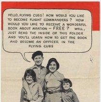 Image of Cocomalt: Flight Commander Test. Promotional brochure issued by R.B. Davis Co., Hoboken, N.J., 1932. - Brochure