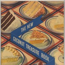 Image of Baker's Coconut recipes: The New Coconut Treasure Book. Issued by General Foods (Hoboken), copyright 1934. - Booklet