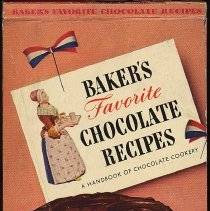 Image of Baker's Coconut: Baker's Favorite Chocolate Recipes. A Handbook of Chocolate Cookery. 1943. - Book