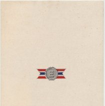 "Image of Keuffel & Esser Co, [Hoboken.] Souvenir pamphlet commemorating the sixth renewal of the Army-Navy ""E"" Award. August 1945. - Pamphlet"