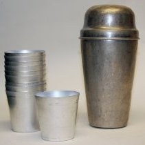 Image of shaker with cups