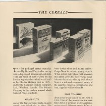 Image of pg 4: Cereals; Grape-Nuts; Post Toasties