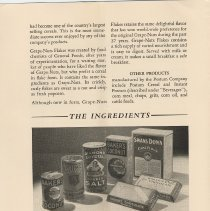 Image of pg 6: The Ingredients; Baker's Premium No. 1 Chocolate
