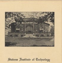 Image of leaf 1: title; photo of Walker Gymnasium