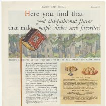 Image of Ad 2: Ladies Home Journal, Dec. 1929; Hoboken address on coupon; St. Paul o