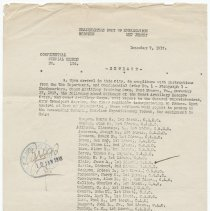 Image of Port of Embarkation orders [WWI] for Coast Artillery Reserve Corps & Coast Artillery Corps to embark for France, Hoboken, Dec. 7, 1917. - Documents