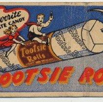 """Image of 1: """"flying' Tootsie Rolls"""
