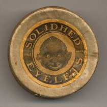 Image of Box: Solidhed Eyelets. 250 pieces. The Solidhed Co., Hoboken, N.J. N.d, ca.1920s. - Box