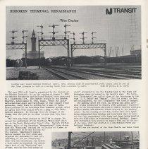 Image of pg 20: Hoboken Terminal Renaissance article; Wes coates