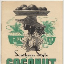 Image of Baker's Coconut cookbook: Southern Style Coconut Recipes. Issued by Franklin Baker Div. of General Foods Corp. Copyright 1937. - Cookbook