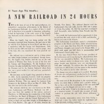 Image of pg 4: article about rail guage change in 1876