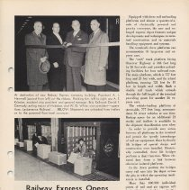 Image of pg 17: Railway Express Open New Facility at Hoboken