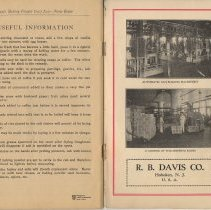 Image of pg 48: Useful Information + inside back cover (2 interior photos)