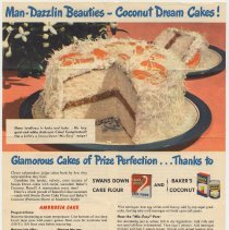 Image of side 1: Swans Down Cake Flour; Baker's Coconut