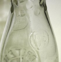 Image of detail back: five cents; One Quart Liquid