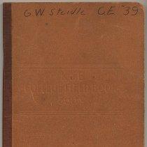 Image of K&E College Field Book 360C. Made by Keuffel & Esser Co., Hoboken, 1935. Used by Univ. of Cincinnati student, 1935-1936. - Book
