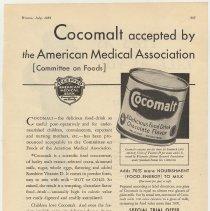 Image of Cocomalt, Hygeia, July 1932