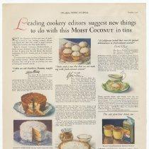 Image of Baker's Coconut, Ladies' Home Journal, Oct. 1926