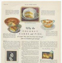 Image of Baker's Coconut, Ladies' Home Journal, Jan. 1927