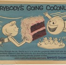 Image of Baker's Coconut,  Parade, February 19, 1956