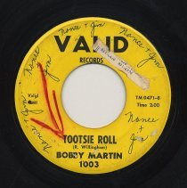 Image of B side TM 0471-B Tootsie Roll