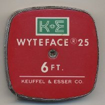 Image of Keuffel & Esser tape measure