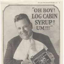 Image of Log Cabin Syrup; Ladies' Home Journal, Nov. 1919