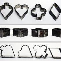 Image of spade (inverted) - heart - club - diamond