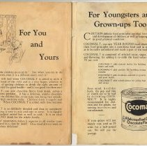 Image of pg [20 + inside back cover - Cocomalt ad