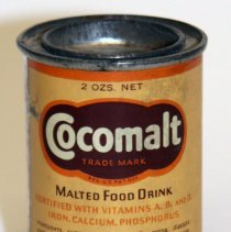 Image of front Cocomalt two ounce sample can