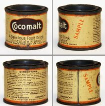 Image of Cocomalt one ounce sample can