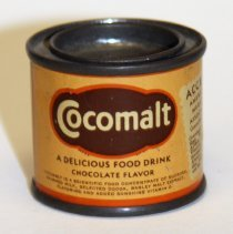 Image of Can: Cocomalt. Malted Food Drink. 1 oz. Sample. Made by R.B. Davis Co., Hoboken. N.d., ca. 1931-1936. - Can