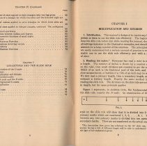Image of pp 2-3: table of contents; Chapter I