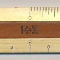 "Image of Architect's scale, 6"" flat, Paragon 1399P, made by Keuffel & Esser Co., n.d., ca. 1950s-1962. - Scale, Architect's"