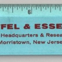 """Image of Ruler, 12"""" aluminum, issued by Keuffel & Esser Company, Morristown, NJ, issued June 7, 1969. - Ruler"""