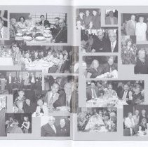 Image of typical of several photo montage spreads