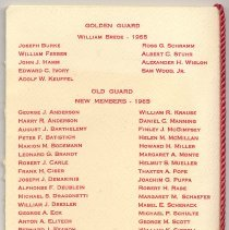Image of pg [4]: Golden Guard; Old Guard New Members - 1965