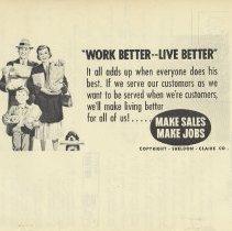 """Image of pg [10]: back cover """"Work Better -- Live Better""""; model family depicted"""