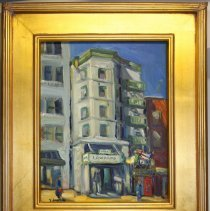 Image of Tihansky, Hotel Edwards painting with frame