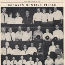 Image of pg 4: photos Hoboken Bowling Finale