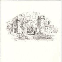 Image of Plate 16: Stevens Gate House