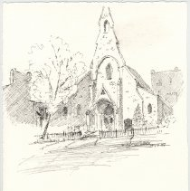 Image of Plate 23: All Saints Episcopal Church (7th & Washington Sts.)