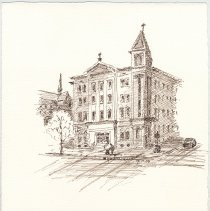 Image of Plate 28: Demarest School Building [former Our Lady of Grace School)