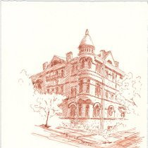Image of Plate 7: The Columbia House (11th & Bloomfield Streets)