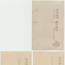 Image of back of all 3 cards: Cyko top; two Azo bottom